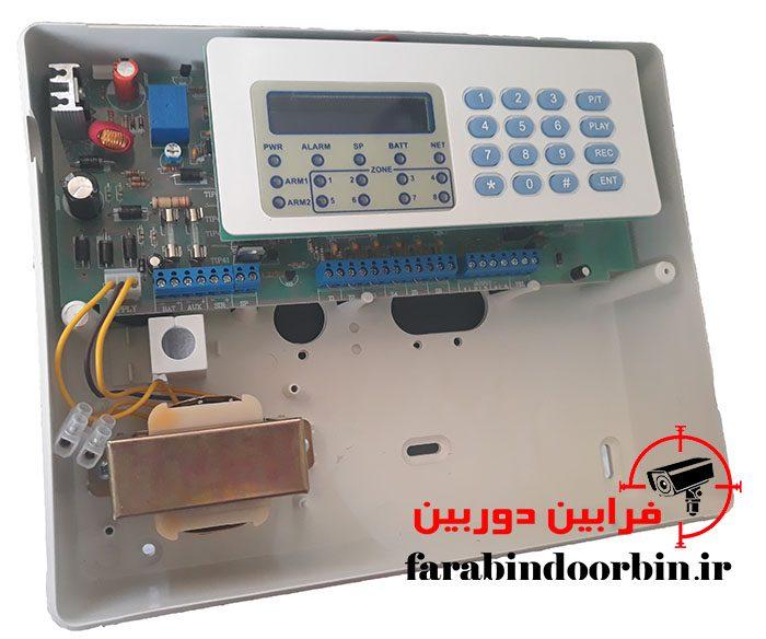 تصویری از داخل دزدگیر اماکن اصفهان رعد
