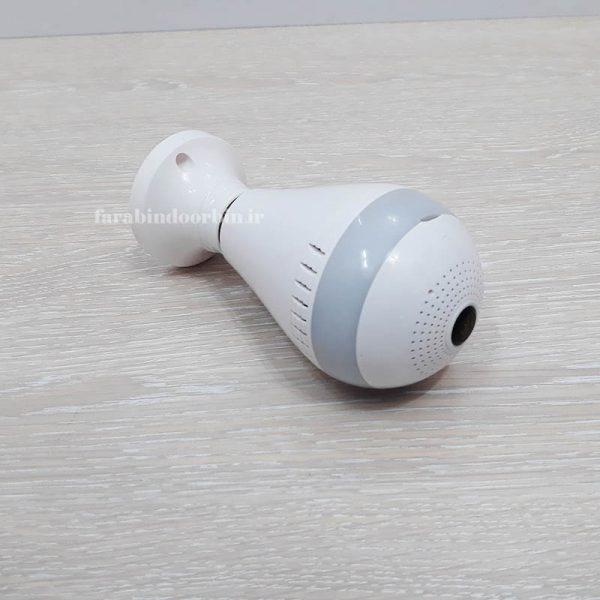دوربین مداربسته طرح لامپ