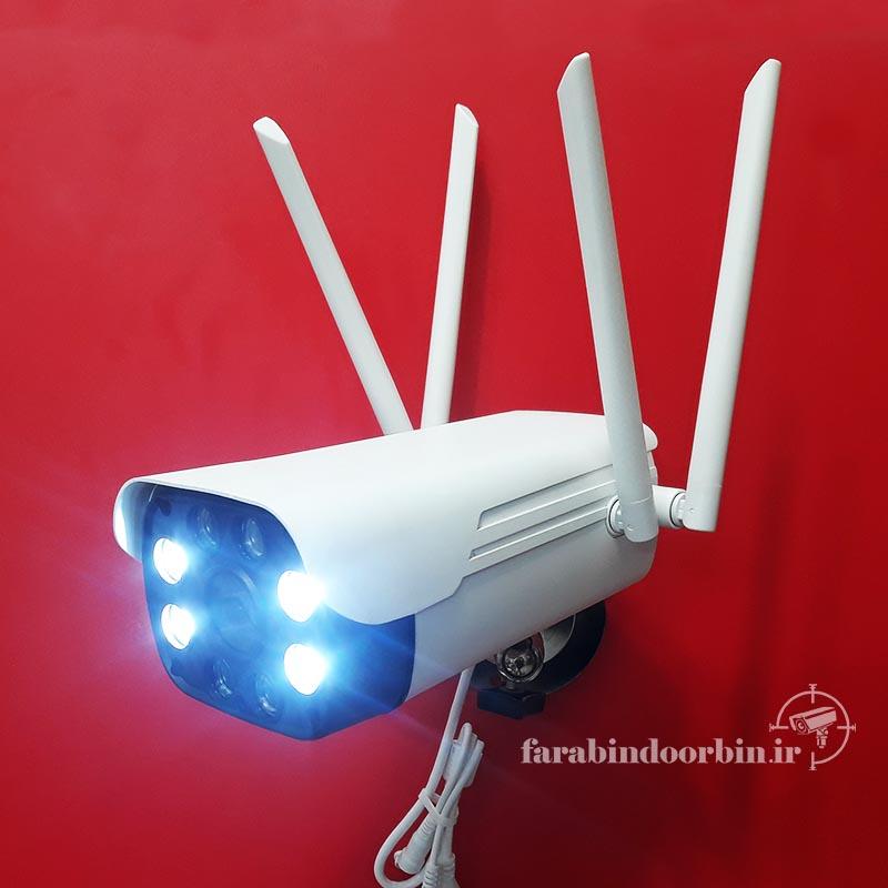 چراغ های LED دوربین بولت وای فای v380