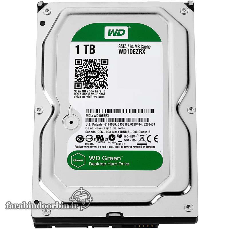 هارد دیسک 1 ترا سبز